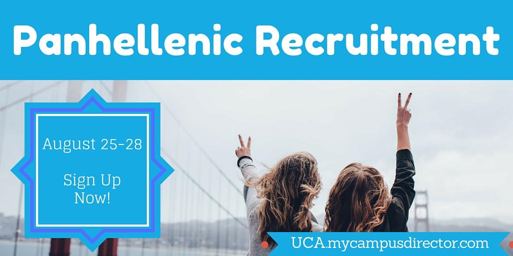 Panhellenic Recruitment