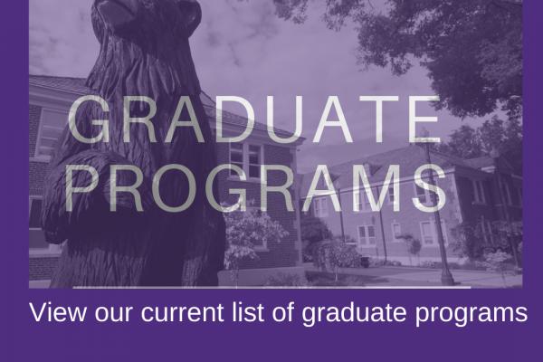 graduate programs; graduate bulletin