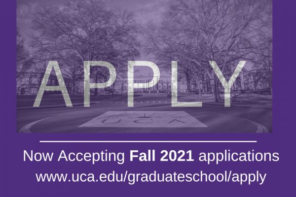 Apply to the University of Central Arkansas Graduate School