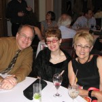 Roger & Barbara & Sondra enjoy the party!