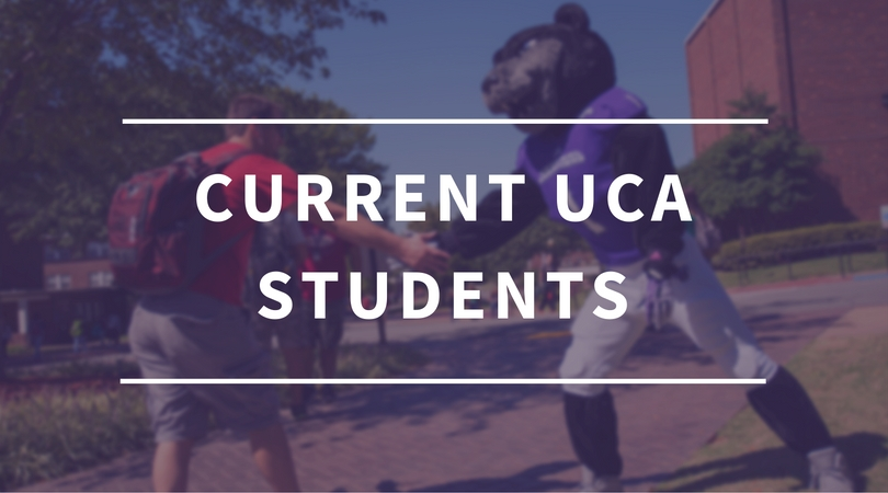 Current UCA Students Button
