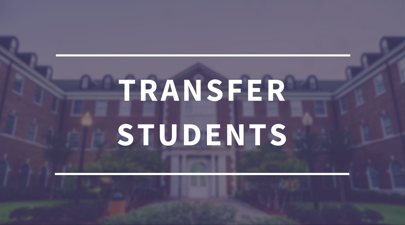 Transfer Students Button