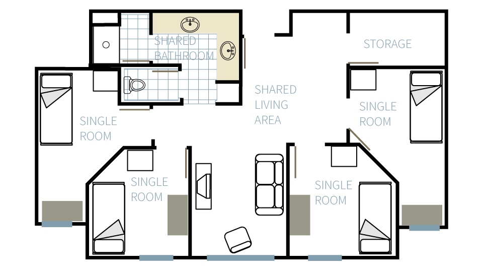 Farris suite floorplan