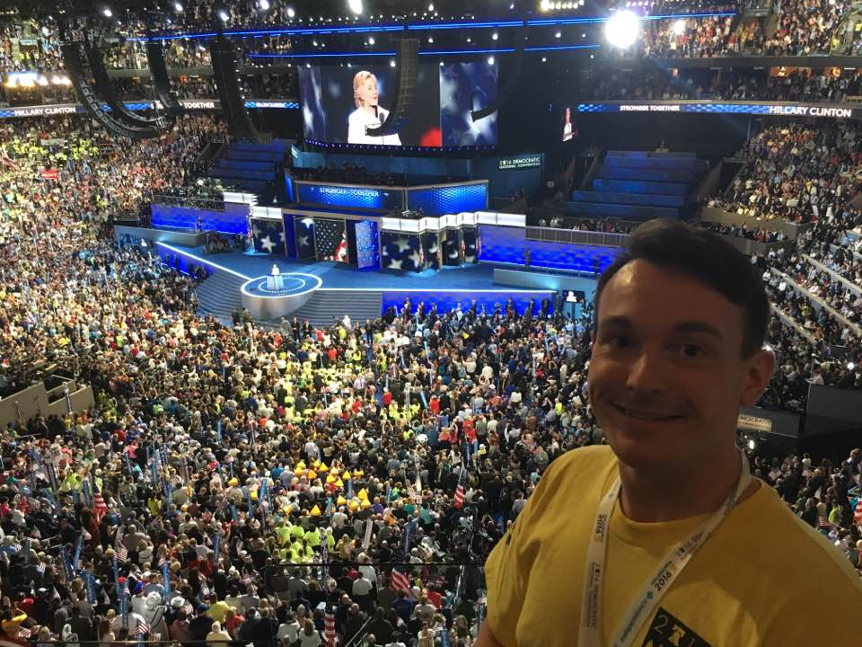 Democrats, Delegates, and Cheesesteaks by Jesse Hufstedler