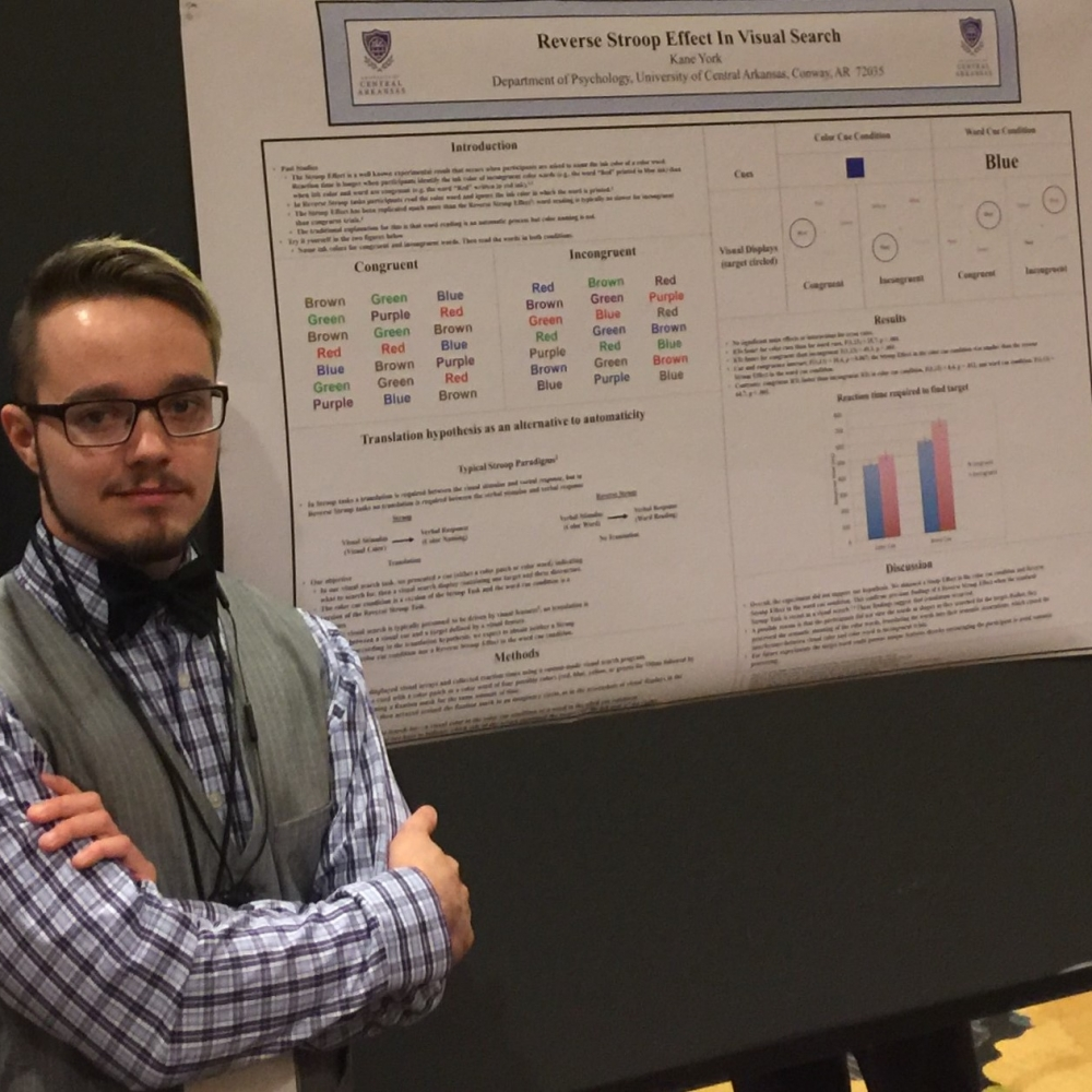 Kane York: First Conference Experience