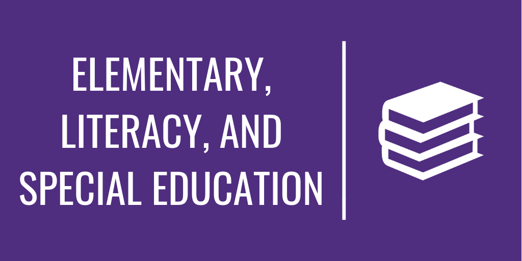Elementary, Literacy, and Special Education