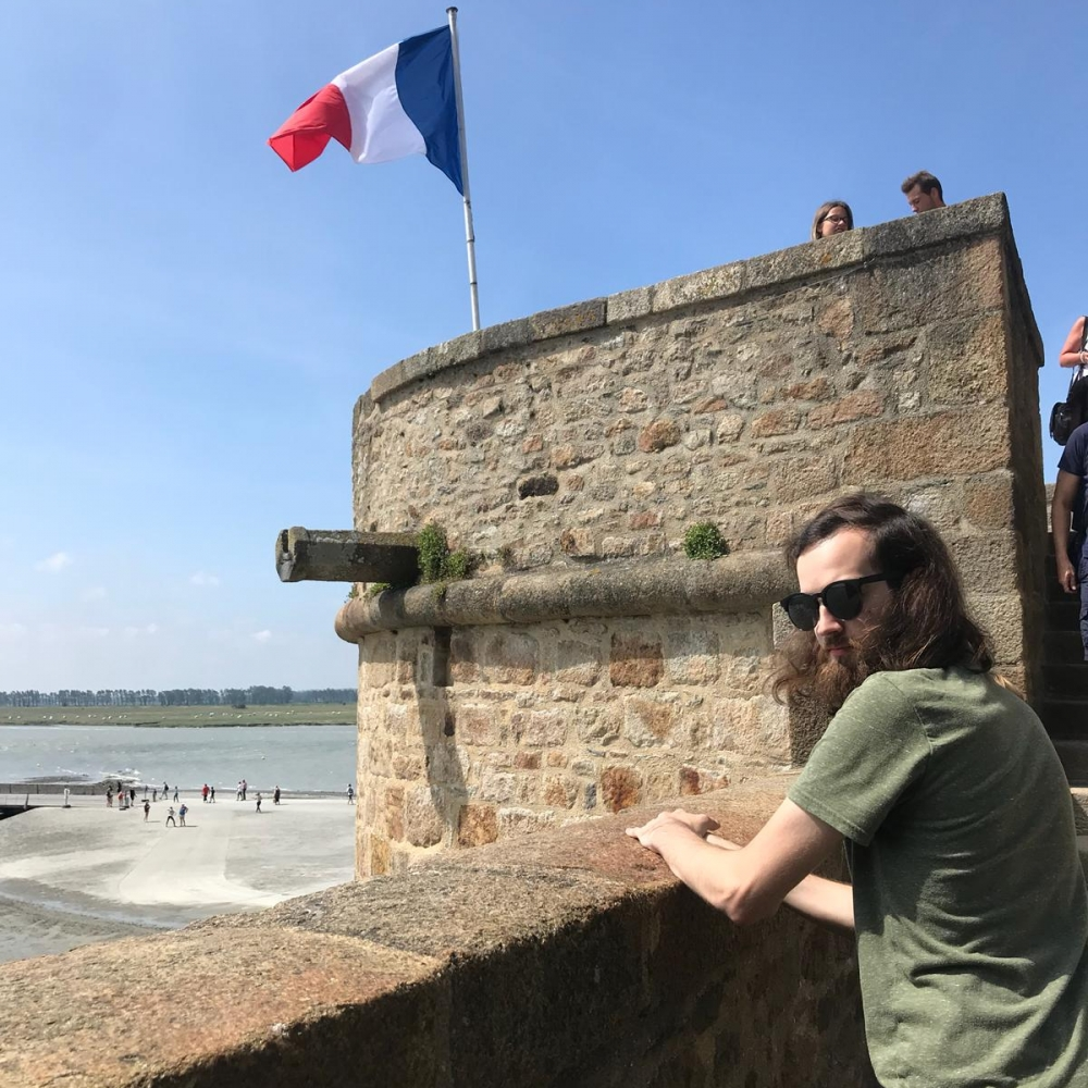 Chase Burnham: Université Catholique de l'Ouest in Angers, France