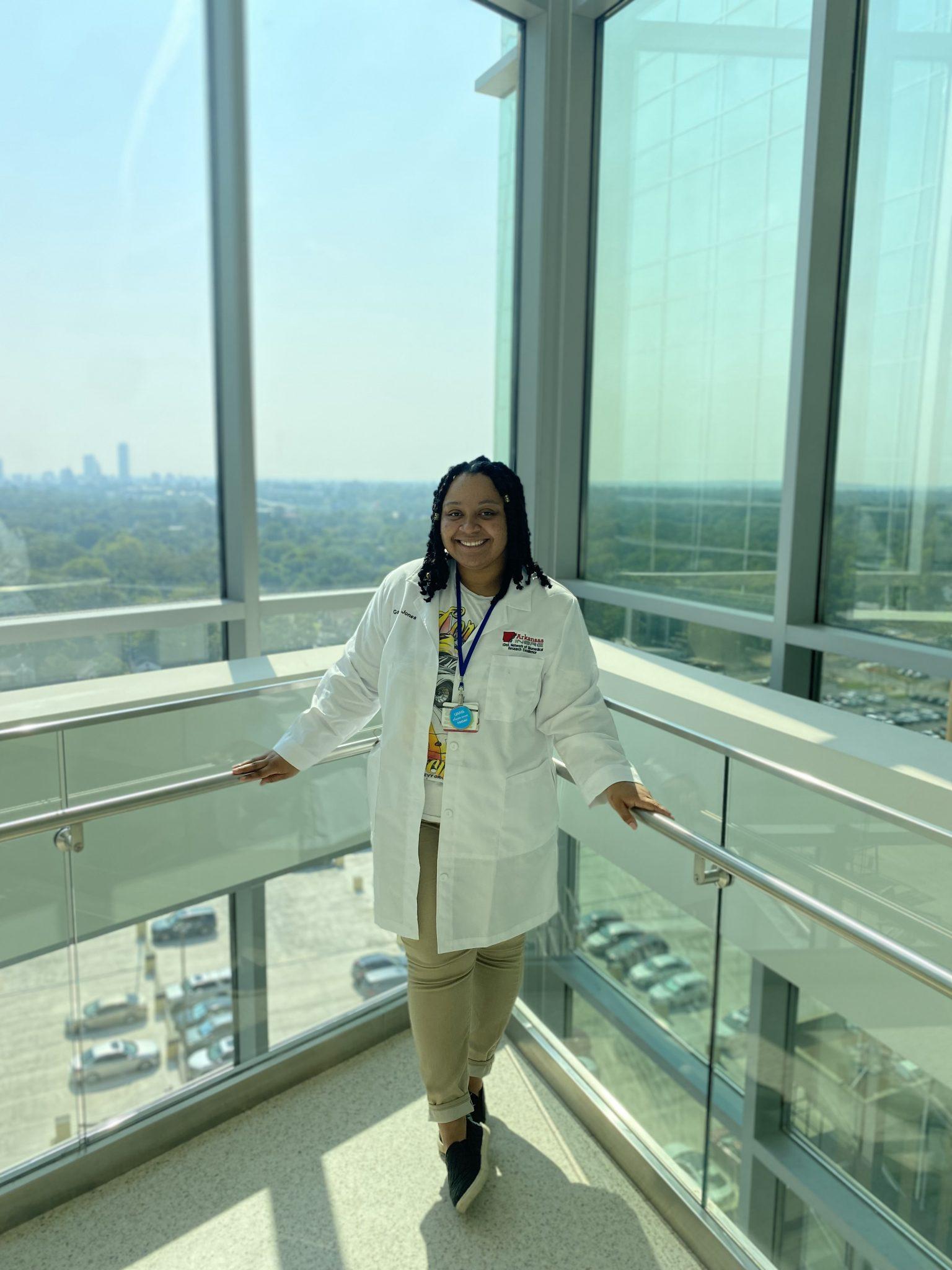 Ganell Jones:   Biomedical Research Internship at UAMS