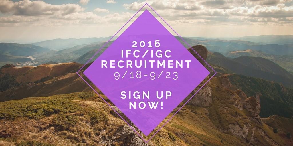 IFc Men's Recruitment