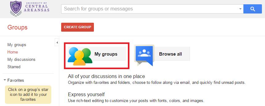 mygroups