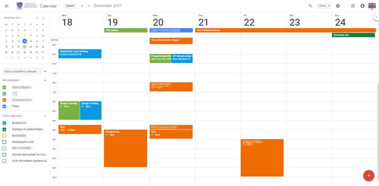 Google Calendar 2018 Update Features