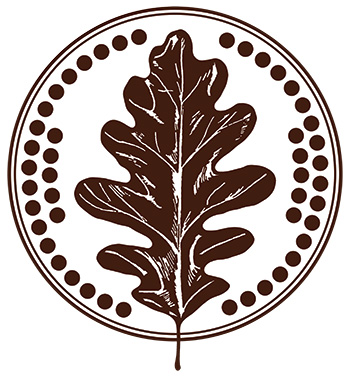 Oak Leaf and 47 Acorns