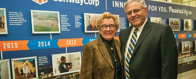 Conway Corporation Center for the Sciences Grand Opening