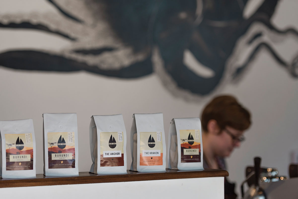 Donaghey Hall - Blue Sail Coffee
