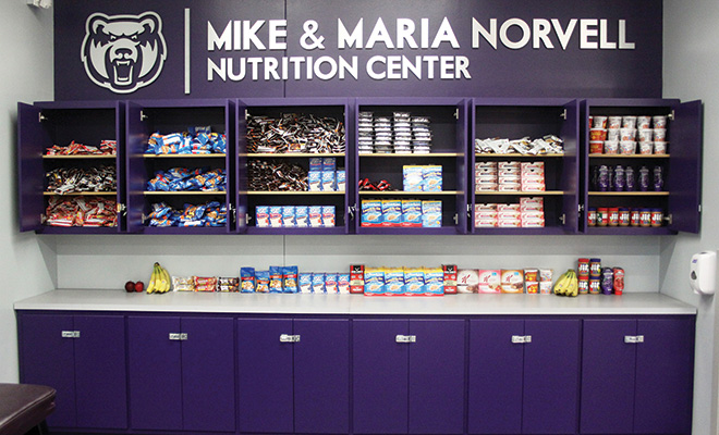 Mike and Maria Norvell Center