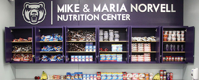UCA Athletics Unveils Norvell Nutrition Center