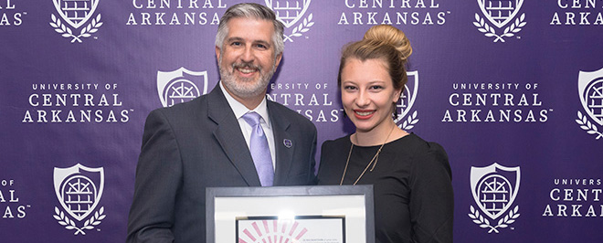 UCA Student Honored as 2017 Newman Civic Fellow