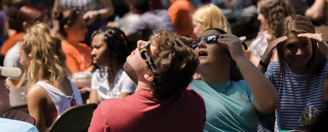 Solar Eclipse Event Held at UCA