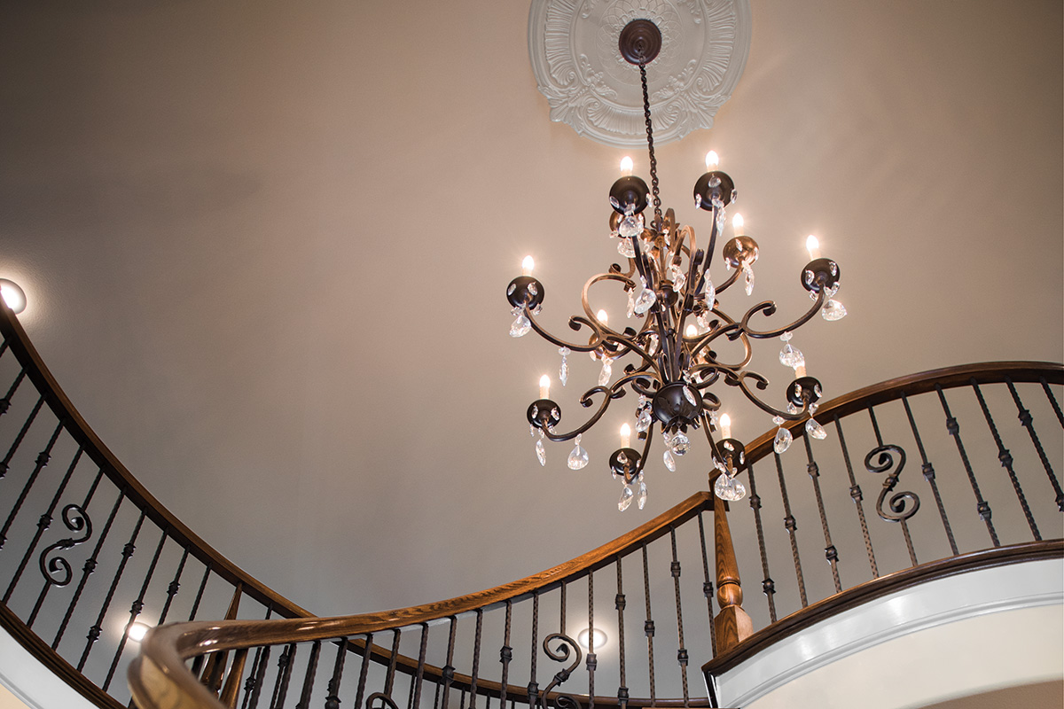 The Charlotte Teresa Bed-and-Breakfast Staircase