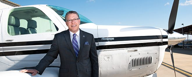 UCA Athletic Director Doubles as Pilot