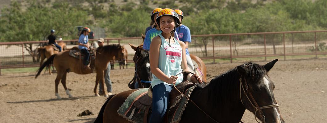 Camp Horton Horseback Riding