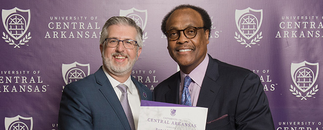 UCA's Ronnie Williams Receives Two Honors for Service