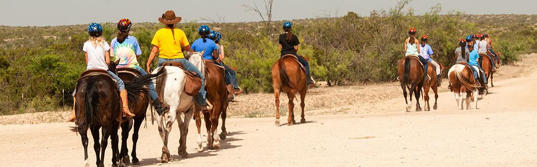 Camp Horton Horseback Riding Group