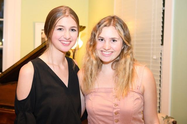 Maddie Meek; Olivia Marotte