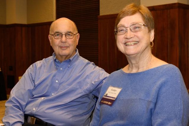 Roger and Carolyn Golden-Fidler '69