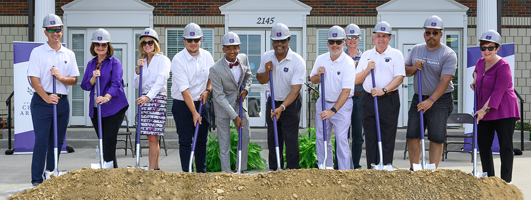 Greek Village Groundbreaking