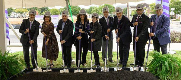 UCA Breaks Ground on Integrated Health Sciences Building