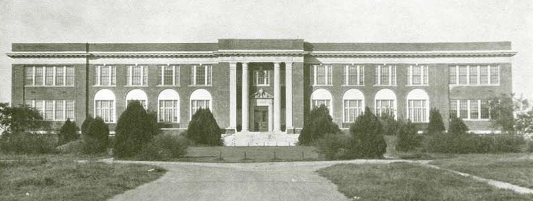 Old Main in 1930