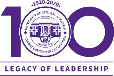 SGA Centennial Logo