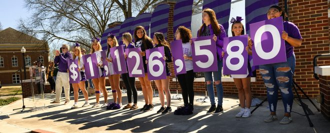 A New Record: UCA Crushes Previous Day of Giving Fundraising Total