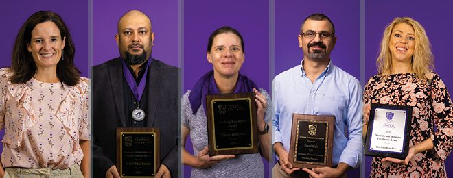 UCA Faculty Honored at 2020 Convocation