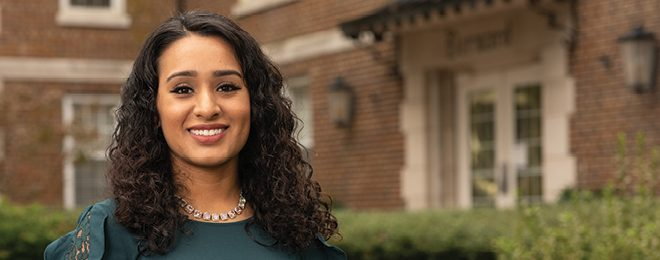 Up Close with Maria Negrete Padron '17, '20