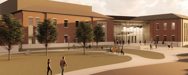 UCA Breaks Ground on Windgate Center for the Fine and Performing Arts, Announces $3 Million Gift