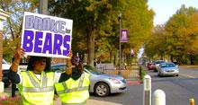 UCA, SGA Promote Pedestrian Safety