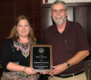 Rowell Named Staff Senate Employee of the Year
