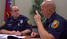 UCA PD Officers Learn Sign Language