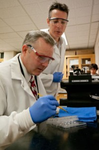 Congressman Griffin Visits Labs, STEM Residential College