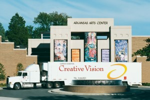 Artmobile to stop at Conway's ArtsFest