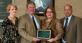 Coffman Awarded the J. D. and Mary Lou Mashburn Award