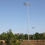 Lights at recreational field