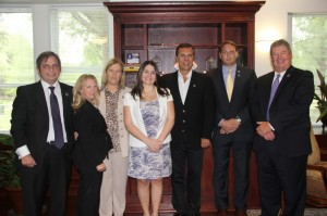 UCA President Tom Courtway and Jane Ann Williams with delegation from Argentina