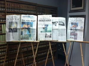 UCA archives to display 9/11 collection
