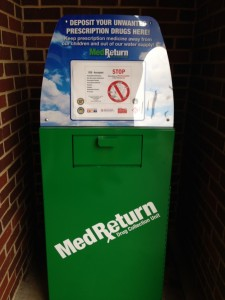 Permanent MedReturn Drug Collection Unit at UCA