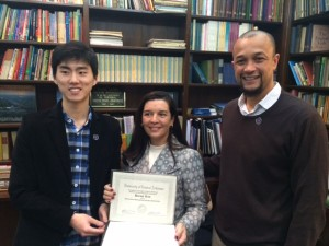 First Distinguished International Student Scholarship