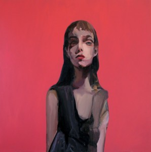 Theresa Pfarr, Lilah, acrylic on canvas, 2013