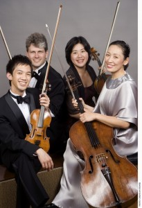 Borromeo String Quartet to be in residence Feb. 11-12